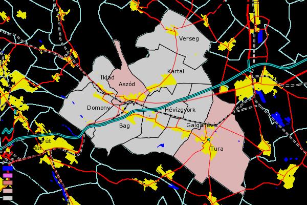 aszód térkép Térinformatika a vidékfejlesztésben aszód térkép